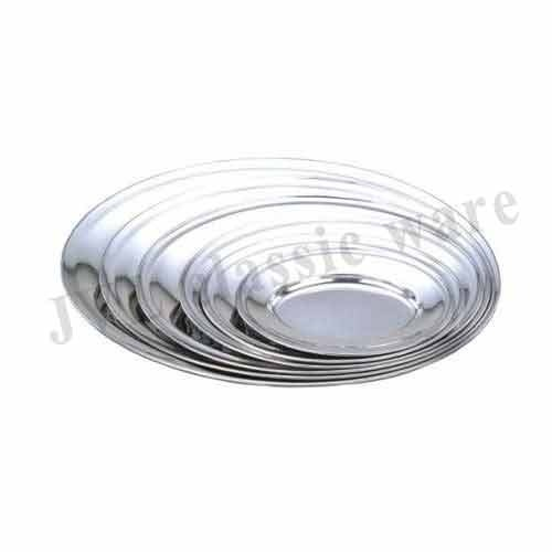 Ribbed Oval Platter