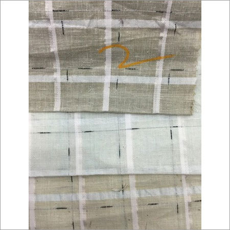 COTTON X POLYSTER BLENDED DOBBY FABRIC