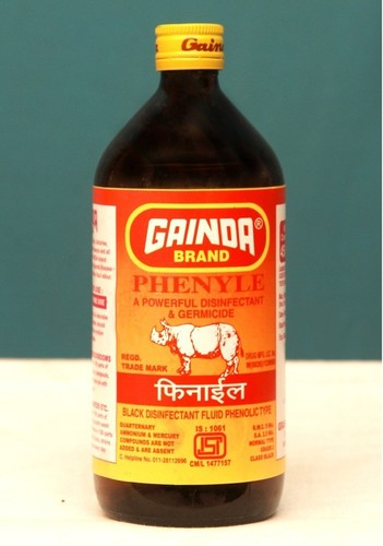 Black Phenyl Disinfectant Fluid