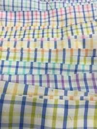 Yarn Dyed Chex Fabric