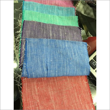 Blended Yarn Dyed Plain Fabric