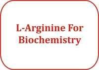 L-Arginine For Biochemistry