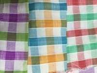 Polyester Blended Fabric in Medium Chex