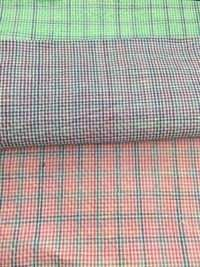 Cotton Polyester Blended Fabrics - Chex