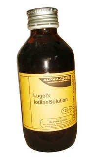 Lugol's Iodine Solution (For Micriscopy)