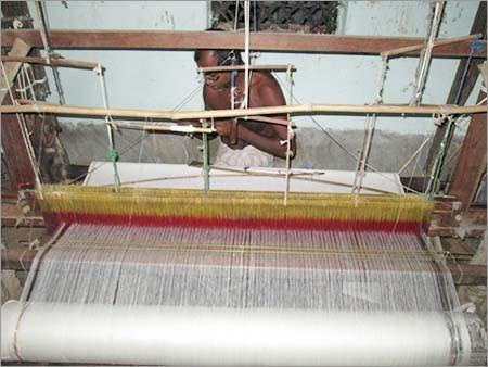 White Handloom Khadi Fabric