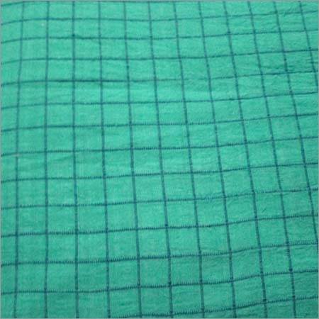 Colored Handloom Khadi Fabric