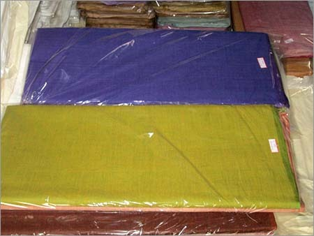 Colored Muslin Khadi Fabric