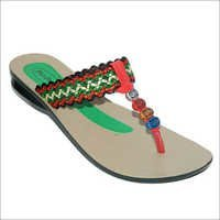 Multi Color Ladies Chappals