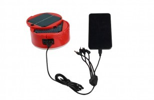 SOLAR LIGHT WITH SOLAR MOBILE CHARGER