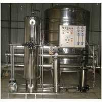 Stainless Steel Water Softening Plant