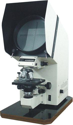 Polarising Projection Microscope