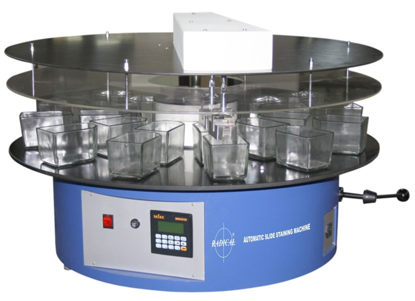 Slide Staining Machine