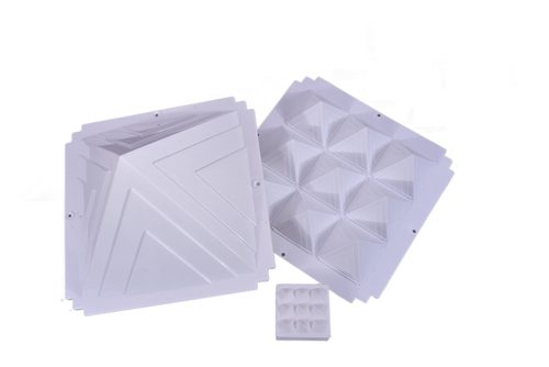 ACP Pyramid Set White 8