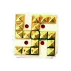 ACP Pyramid Swastik - Golden