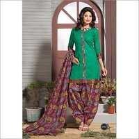 Patiala Cotton Dress Materials