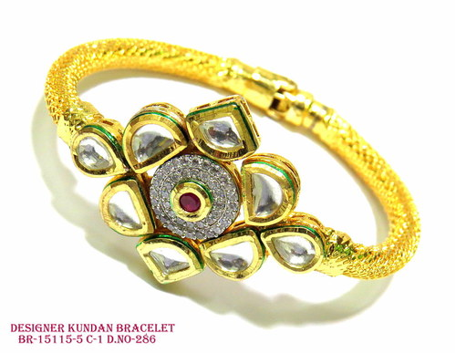 Designer Kundan Bracelet