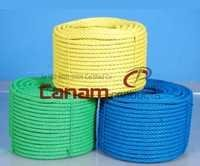Multi Colour PP Rope