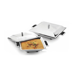 Square Curry Dish with lid