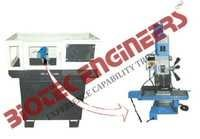 CNC Lathe Machine with Cabinet And PC