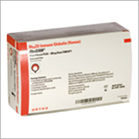 Rhogam Anti D Pre Filled Syringe