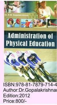 Administrayion in physical Education