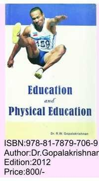 Education and Physical education