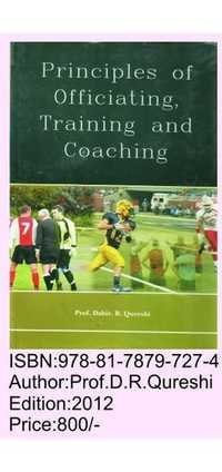 Principles of Officiating, Training & Coaching
