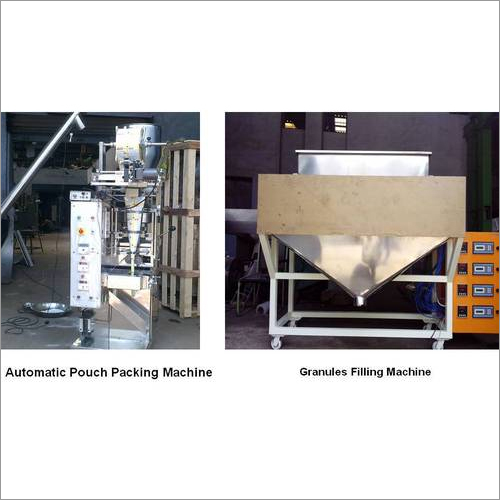 Granules Pouch Packing and Filling Machine