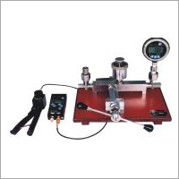 Pressure Measuring Instruments Calibration Setup