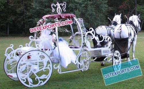 Wedding Bride Entry Cinderella Carriage