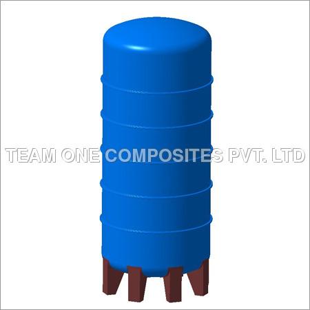 FRP Vertical Liquid Tank