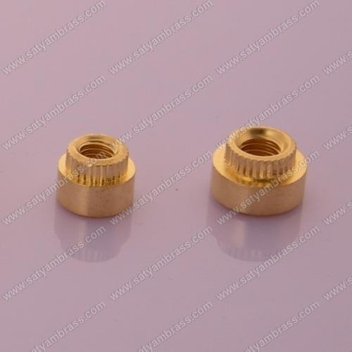 Brass Round Insert Nut