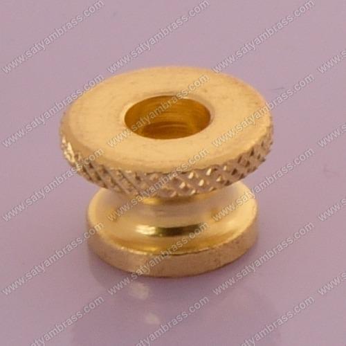 Brass Knurled Thumb Nut