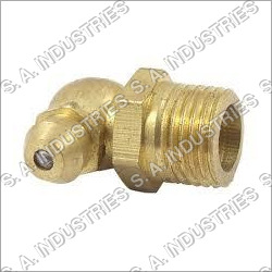 90 Degree Brass Grease Nipple