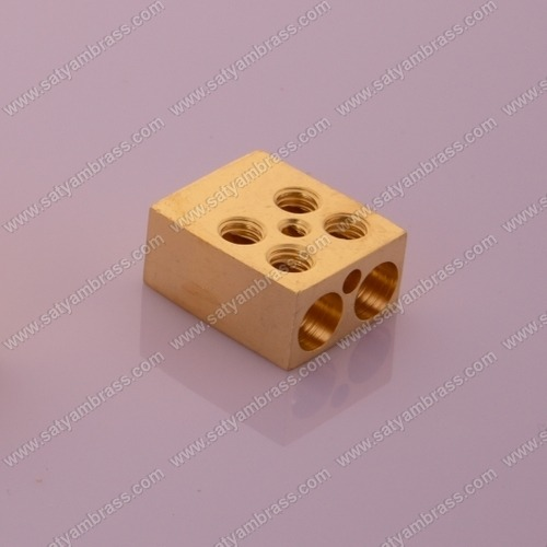 Brass Square Type Terminal Block