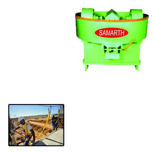 Pan Mixer Machine for Construction