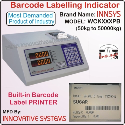 Barcode Labeling Indicator