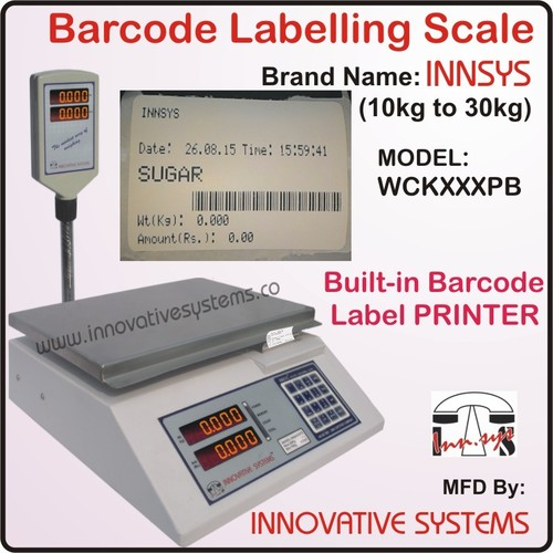 Barcode Labeling Scale