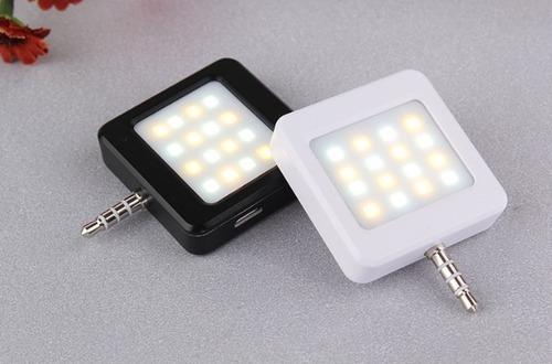 Mini 16 LED light filling mobile Phone support mini selfie led flash light