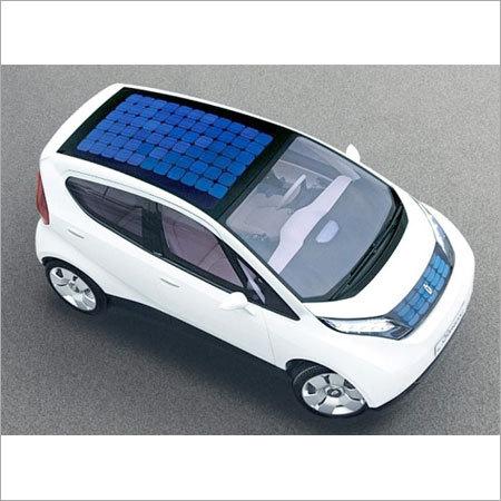 Solar Electric Car (100% Solar Powered)