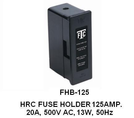 HRC Fuse Holder 125amp.