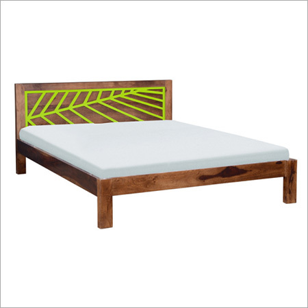 Bloomington Solid Shesham Wood Bed