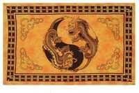 YING YAND DRAGON PRINTED TAPESTRY