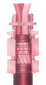 FLAMEPROOF TYPE DOUBLE COMPRESSION CABLE