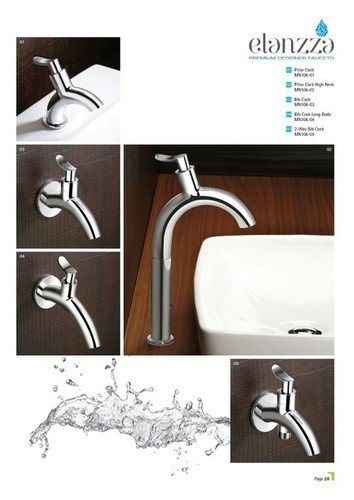 Bathroom Pillar Taps Certifications: Ce & Nsic