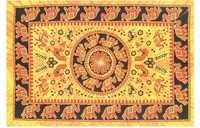TRIBAL ELEPHANT TAPESTRY FROM INDIA