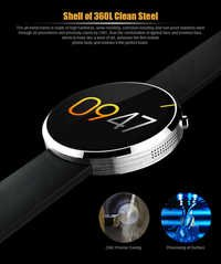Bluetooth  Smart watch for IOS and Andriod Mobile Phone with Heart rate monitor