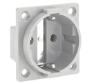 Panel mounting socket