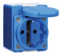surface mounting socket outlet